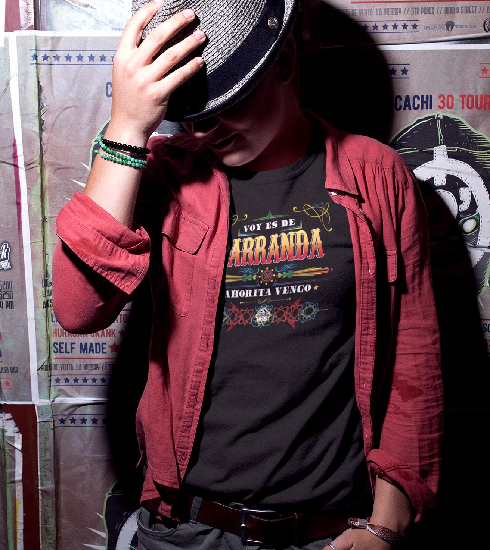 Camiseta Voy de Parranda